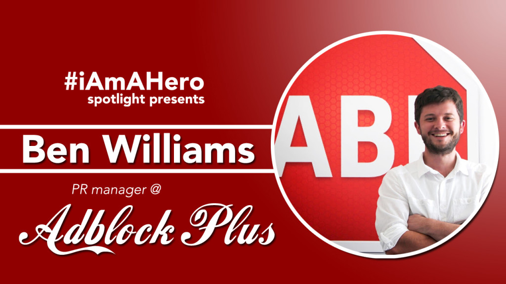 Ben Williams of Adblock Plus
