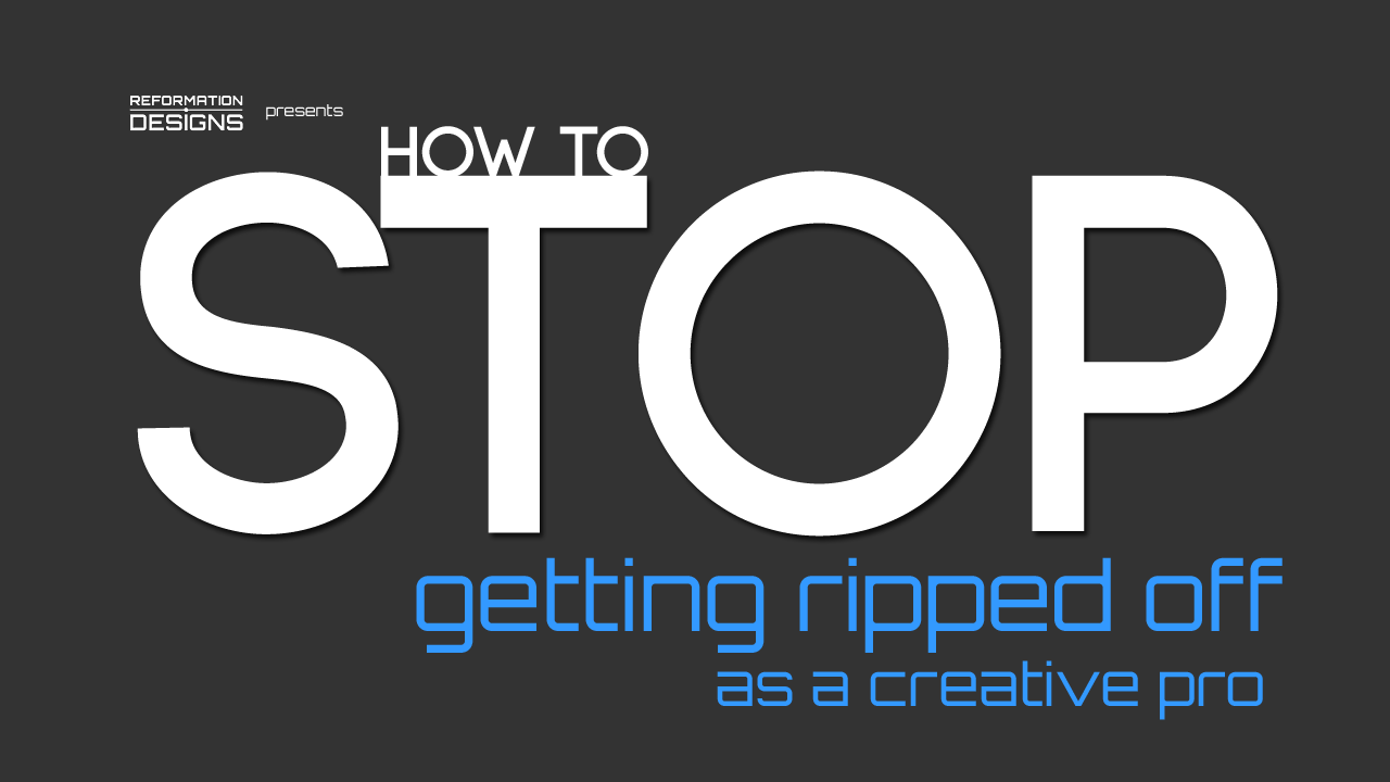 How to stop Getting Ripped off