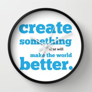 create something clock