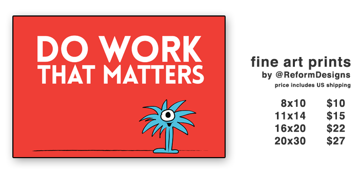 Do Work that matters Gumroad Banner