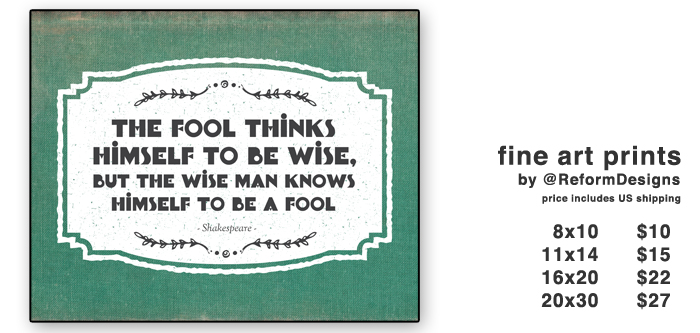 foolish and wise gumroad banner