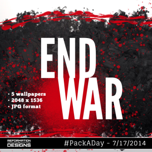End War Royalty Free Backgrounds by Reformation Designs