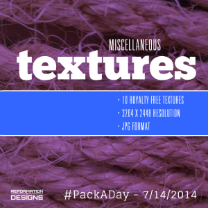 Miscellaneous Textures by Reformation Designs