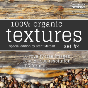 Organic textures Set 4 by Reformation Designs
