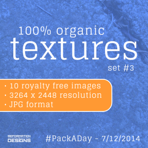 Organic Textures Set 3 by Reformation Designs