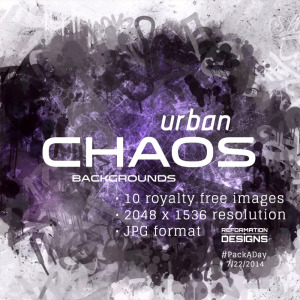 Urban Chaos Royalty Free Backgrounds by Reformation Designs