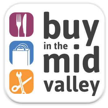 Buy in the Mid Valley Logo